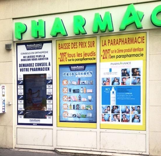 vitrine pharmacie -moche