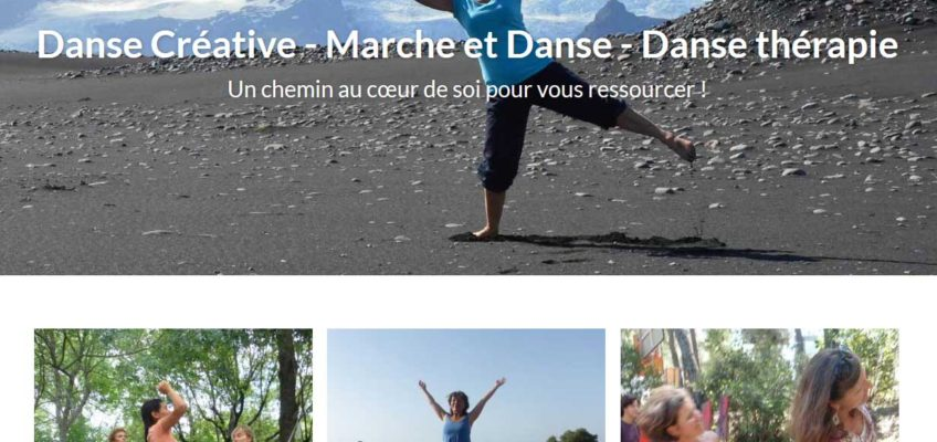 template site wordpress aventure danse