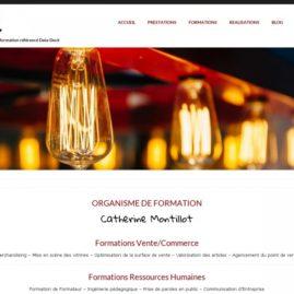 thème graphique du site web ckti salon de provence