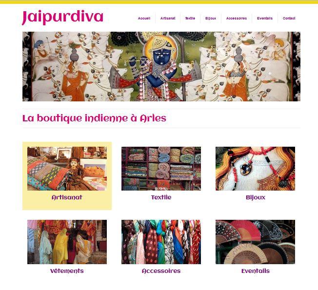 Nouveau thème design Jaipurdiva site