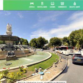 Fontaine de la Rotonde avec mappy street view