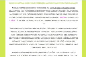 page-web-paragraphe-majuscules