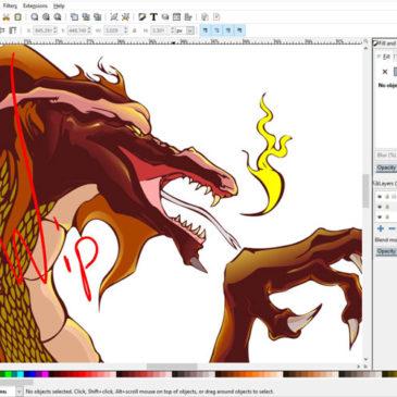 Tutoriels vidéos Inkscape pour créer des logos, flyers ou bannières web