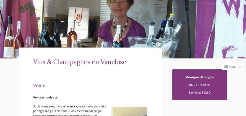 Formation WordPress pour Wine For You à Sarrians