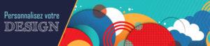 bandeau design theme graphique web