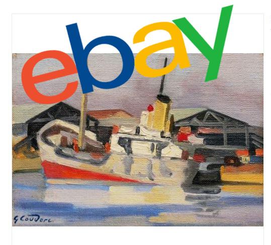 Tableau Bateau Vendu Sur Ebay Arteacom