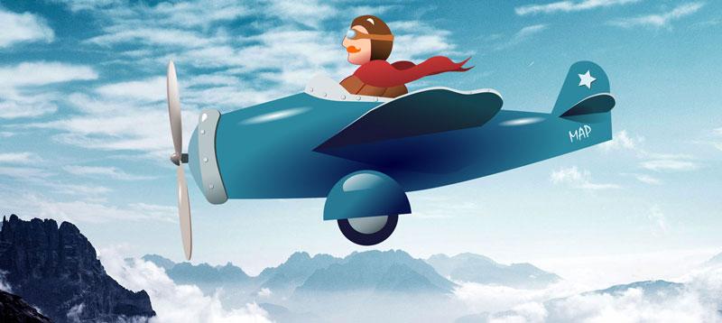 banniere arteacom aviateur