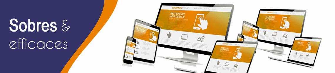 bandeau creation de site web