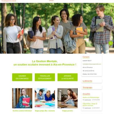 Refonte du site web Des Clefs pour Apprendre