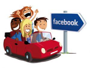 dessin : en route pour une formation facebook