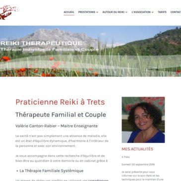 Création de site et formation WordPress pour thérapeute Reiki à Trets