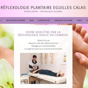 Création du site WordPress Réflexologie Plantaire à Eguilles
